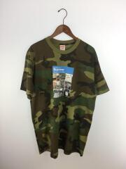 20FW/Verify TeeTシャツ/L/コットン/KHK/カモフラ