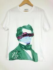 19AW/タグ付/V face UFO print Tシャツ/SV0MG03N5PE/XS/コットン/WHT//  プリント