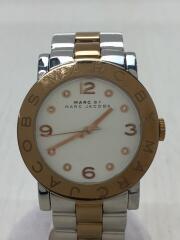 マークバイマークジェイコブス/MBM3194/クォーツ腕時計/アナログ/SLV/SLV