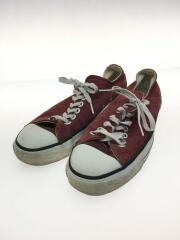 90s/MADE IN USA/ローカットスニーカー/US8.5/RED/スウェード
