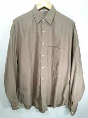オーラリー/19SS/WASHED FINX TWILL BIG SHIRTS//4/コットン/A9SS01TN