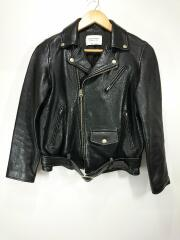 1000402411/vintage leather riders jacket/ライダースジャケット/