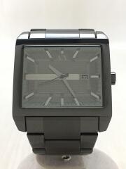 クォーツ腕時計_ステンレス/アナログ/ブラックxブラック/AX2202