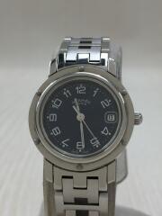 クォーツ腕時計/アナログ/ステンレス/NVY