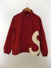 19ss/S Logo Track Jacket Red/ナイロン/RED