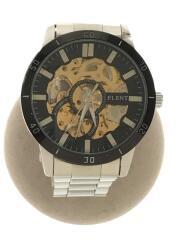 自動巻腕時計/アナログ/GLD/SLV/セカスト/中古/F8039G
