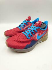 nike air zoom pegasus 35/nike id/by you/ローカットスニーカー/23cm/RED