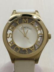 ヘンリースケルトン/HENRY SKELETON/MBM1339/クォーツ腕時計/アナログ/レザー/SLV