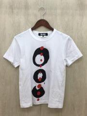 Tシャツ/XS/コットン/WHT/プリント/1A-T003/AD2018
