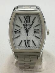セイコー/seiko/ソーラー腕時計/アナログ/ステンレス/SLV/1b22-0ap0