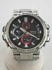 casio/カシオ/g-shock/ソーラー腕時計/アナログ/ステンレス/BLK/SLV