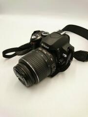 ニコン/デジタル一眼カメラ D60 ダブルズームキット/2008年製/箱無し