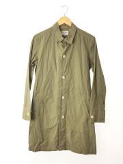 ショップコート/1/コットン/KHK/used coat