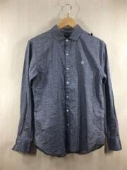 長袖シャツ/S/コットン/IDG/121BENH-SHM07/used shirt