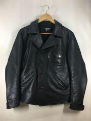 CIDU/シヅ/レザージャケット・ブルゾン/M/BLK/used leather jacket