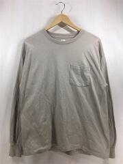長袖Tシャツ/36/コットン/BEG/KSBS20SCS01/used