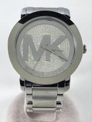腕時計/アナログ/ステンレス/クリスタルランウェイ/MKロゴ/MK-3461//クォーツ  Runway ラインストーンベゼル