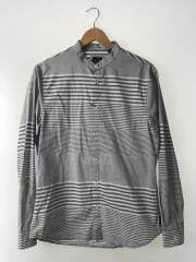 長袖シャツ/M/コットン/GRY/3ZZC63-ZNDMZ/ヴィンテージストライプシャツ