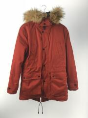 コート/M/ポリエステル/RED/Quilted parka with hood/0029/450/632