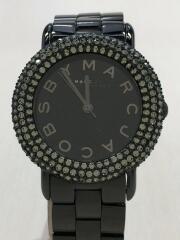 クォーツ腕時計/アナログ/--/BLK