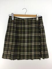 スカート/38/ウール/GRN/チェック