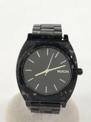 クォーツ腕時計/アナログ/--/BLK/BLK/A327 2185-00/電池切れ