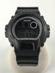 ×F.C.R.B./クォーツ腕時計/デジタル/DW-6900FS/FCRB-180093