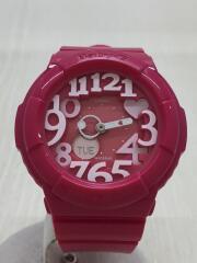 クォーツ腕時計・Baby-G/デジアナ/PNK