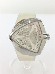 自動巻腕時計/アナログ/WHT/WHT/H246550/VENTURA