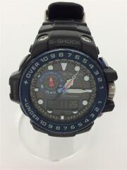 ソーラー腕時計・G-SHOCK/デジアナ/BLK/GWN-1000B-1BJF/電波 GULFMASTER Triple Sensor ガルフマスター トリプルセンサー