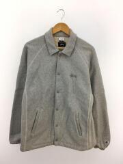 ジャケット/XL/コットン/GRY