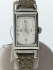 クォーツ腕時計/ミニシグネチャー/CA.51.7.14.0488/アナログ/シルバー/ベージュ