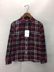 ネルシャツ/NTW26157/M/コットン/RED/チェック