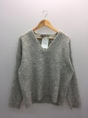セーター(厚手)/S/アルパカ/GRY