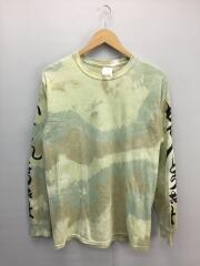 長袖Tシャツ/M/コットン/YLW/19SS-TS9-002
