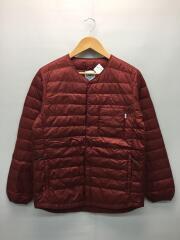 ダウンジャケット/M/ナイロン/RED