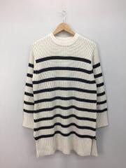セーター(厚手)/O/ウール/ボーダー/09WN0185042