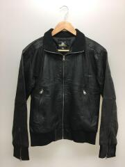 REWORKED LEATHER/レザージャケット・ブルゾン/38/レザー/BLK