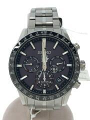 5X53-0AB0/SBX003/ソーラー腕時計/アナログ/ステンレス/BLK/SLV