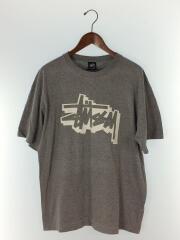 ロゴプリントTシャツ/RN94974 CA28629/XL/コットン/グレー/メキシコ製