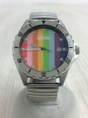 ダイバーQZ/2510-S010161/クォーツ腕時計/アナログ/ステンレス/マルチカラー/SLV