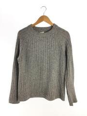 セーター(厚手)/L/ウール/グレー/596-6260514