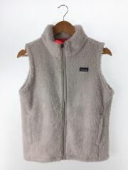Girls Los Gatos Vest/フリースベスト/XXL/ポリエステル/ホワイト/STY65490FA17