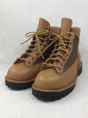 ブーツ/FIELD EM-GTX/25.5cm/BRW/レザー/ゴアテックス/箱有