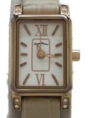 腕時計/アナログ/--/WHT/CRM