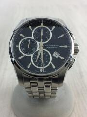 自動巻腕時計/アナログ/ステンレス/BLK/SLV/h325961