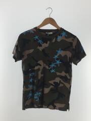 Tシャツ/XS/コットン/KHK/カモフラ/PV3MG10M3M0/星