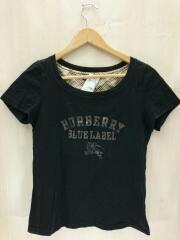 Tシャツ/38/コットン/BLK