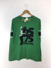 ガールプリント/長袖Tシャツ/L/コットン/4CL-6263