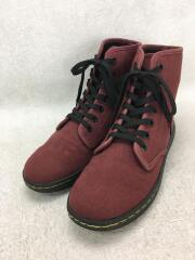 SHOREDITCH 7EYE BOOT/ブーツ/US7/BRD/キャンバス